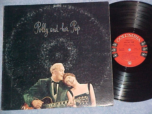 POLLY BERGEN AND HER POP (Bill Bergen)--NM/VG+ 1958 LP