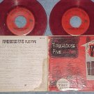 Dbl EP w/PS-FIREHOUSE FIVE PLUS TWO-s/t--2-2--Red Vinyl