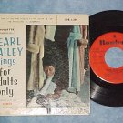 EP w/PS-PEARL BAILEY SINGS FOR ADULTS ONLY-'57-VG++/VG+