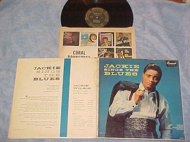 JACKIE WILSON--JACKIE SINGS THE BLUES-1st Press Mono LP