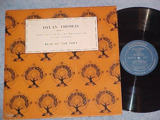 DYLAN THOMAS--SELECTIONS READ BY THE POET--Volume 2--LP