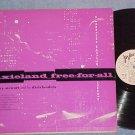 REX STEWART-DIXIELAND FREE FOR ALL-VG+ 1956 Jazztone LP