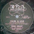 78--GOGI GRANT--YOU'RE IN LOVE--1955--Era 1019