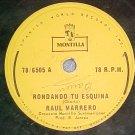 78--RAUL MARRERO--RONDANDO TU ESQUINA--Montilla 6505