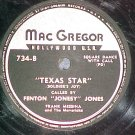 78--FENTON JONESY JONES--VIRGINIA REEL--MacGregor 734