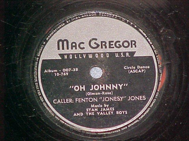 78-FENTON JONESY JONES-SPANISH CAVALIER-MacGregor 007-3