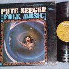 PETE SEEGER-FOLK MUSIC-LIVE AT THE VILLAGE GATE-1965 LP