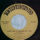 45-ERNIE ANDREWS-MAKE ME A PRESENT OF YOU-Trend 68-VG++