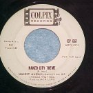 45-MANNY ALBAM-NAKED CITY THEME-'62-Colpix 661-WL Promo