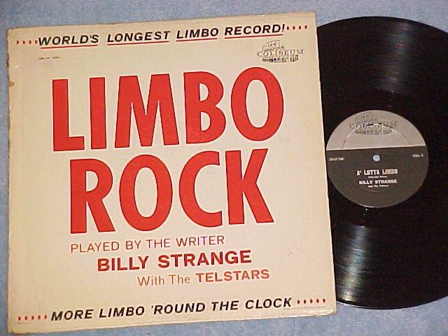 BILLY STRANGE--LIMBO ROCK--VG++/VG 1962 LP on Coliseum