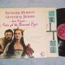 ANNE OF THE THOUSAND DAYS--NM/VG+ Sdk LP-Richard Burton