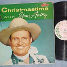 CHRISTMASTIME WITH GENE AUTRY--VG+/VG 1958 LP-Challenge