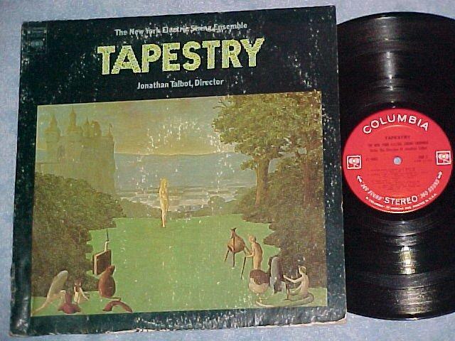NEW YORK ELECTRIC STRING ENSEMBLE-TAPESTRY-LP--NM Vinyl