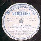 78-ALEC TEMPLETON-c.1935-Gramophone Shop Varieties 1009