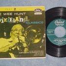 EP w/PS--PEE WEE HUNT--DIXIELAND CLASSICS--Part 2--1951