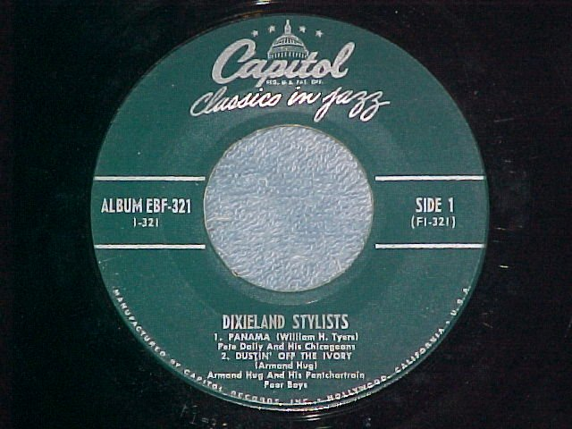 EP--DIXIELAND STYLISTS--Part of Capitol EBF-321--VG+