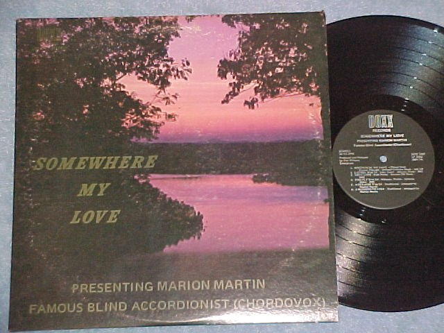 MARION MARTIN-SOMEWHERE MY LOVE-Accordion--Doc Williams