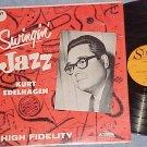 KURT EDELHAGEN--SWINGIN' JAZZ--NM/VG+ in shrink 1962 LP