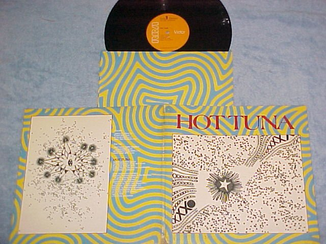HOT TUNA--FIRST PULL UP THEN PULL DOWN--NM/VG+ 1970 LP