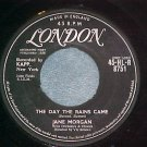 UK 45-JANE MORGAN--THE DAY THE RAINS CAME--1958--London
