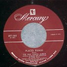 45-RALPH BURNS-FREE FORMS ALBUM: PLACES PLEASE-1952--NM