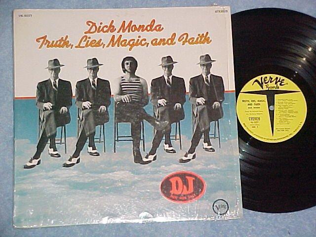 DICK MONDA-TRUTH,LIES,MAGIC,AND FAITH-NM shrink PromoLP