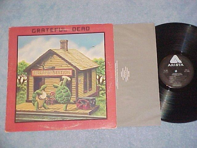 GRATEFUL DEAD-TERRAPIN STATION--VG++/VG+ 1977 LP-Arista