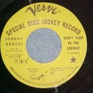 45--JOHNNY HODGES--DON'T SLEEP IN THE SUBWAY--Promo--#2
