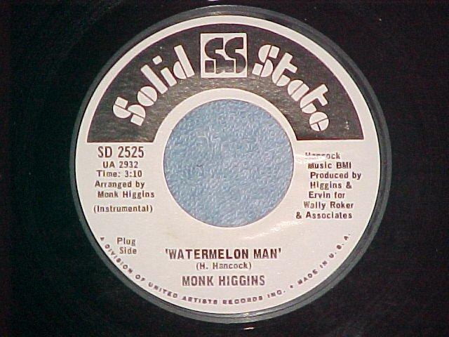 45-MONK HIGGINS-WATERMELON MAN-Solid State-WL Promo--NM