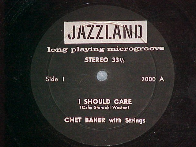 Stereo LLP (EP)-CHET BAKER--I SHOULD CARE-Jazzland 2000