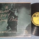 "PAUL BRITTEN--THE WALTZES OF IRVING BERLIN--10"" 1953 LP"