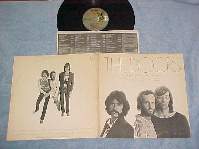 THE DOORS--OTHER VOICES--VG++1971 LP--Elektra EKS-75017