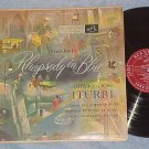AMPARO AND JOSE ITURBI-Gershwin:RHAPSODY IN BLUE-'54 LP