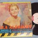 LOLA ALBRIGHT--DREAMSVILLE--1959 LP--Columbia--WL Promo