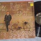 YVES MONTAND A PARIS--s/t NM/VG++ 1962 LP--King 758