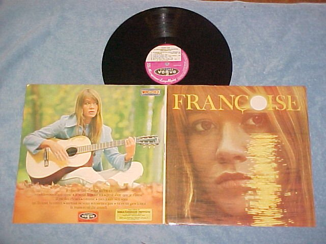 FRANCOISE HARDY--FRANCOISE-1966 France LP--Vogue 702-30