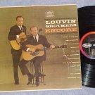 LOUVIN BROTHERS--ENCORE--VG+ 1961 LP--Capitol T-1547