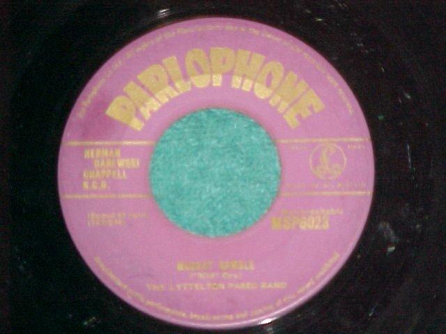 UK 45-LYTTELTON PASEO-MUSKAT RAMBLE-Parlophone MSP-6023