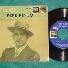 Spain EP w/PS-EL CANTE DE PEPE PINTO-Odeon/EMI 7EPL-108