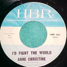 45--ANNE CHRISTINE--KITTY UP GO--1966--HBR 464--VG++
