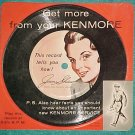 "LLP/EP-GET MORE FROM YOUR KENMORE--6"" 1-sided PD Record"