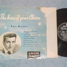 "TONY BENNETT--THE VOICE OF YOUR CHOICE--10"" 1955 UK LP"