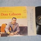 DON GIBSON--I WROTE A SONG--VG++/VG+ Stereo 1963 RCA LP