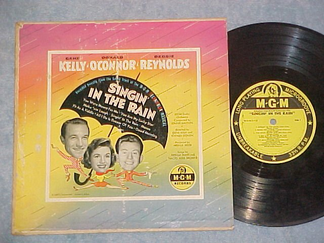 "SINGIN' IN THE RAIN--10"" VG++/VG 1952 Movie Sdk LP--MGM"