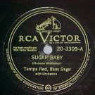 78--TAMPA RED--SUGAR BABY-1947--RCA Victor 20-3309--VG+
