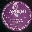78--RAY EBERLE--ALONG WITH ME--1946--Apollo 1006--VG+