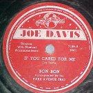 78--BON BON & PARK AVENUE TRIO--1945--Joe Davis 7196