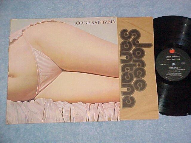 JORGE SANTANA-Self Titled VG++ 1978 LP ~Sexy Cheesecake