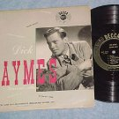 "DICK HAYMES SOUVENIR ALBUM--10"" 1949 LP--Decca DLP-5012"