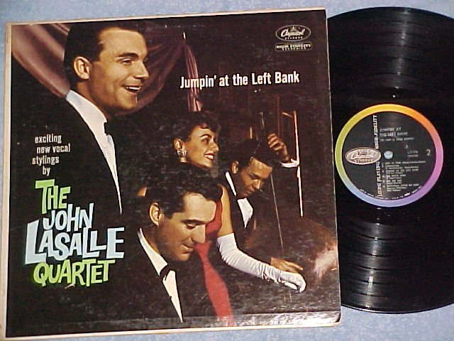 JOHN LASALLE QUARTET-JUMPIN AT THE LEFT BANK-VG+ '59 LP